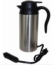 24V Car electric heating cup car kettle drinking water heater electric heating kettle large capacity 750ml