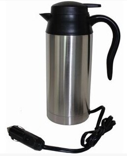 24V Car electric heating cup car kettle drinking water heater electric heating kettle large capacity 750ml lucky shot drinking roulette game 6 cup set