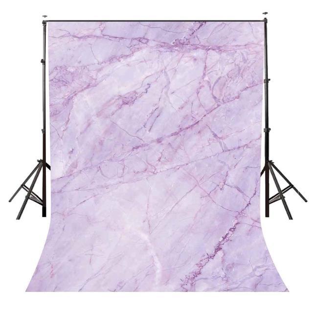 5x7ft Viola Marble Texture Pattern di Sfondo per il Servizio Fotografico Wq14 Sfondo Fotografia In Studio Puntelli