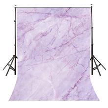 Toile de fond de modèle de Texture de marbre Violet 5x7ft pour les accessoires de Studio de photographie de fond de séance de Photo