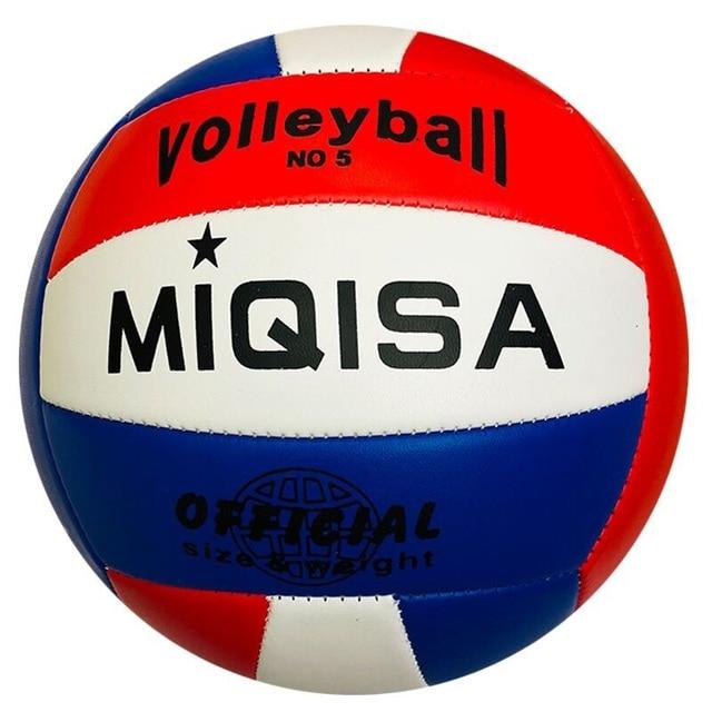 Marca Indoor Tamanho Oficial 5 Vôlei Macia Bola De Treinamento De Voleibol  Máquina de Costura Voleibol 722002c0e044c