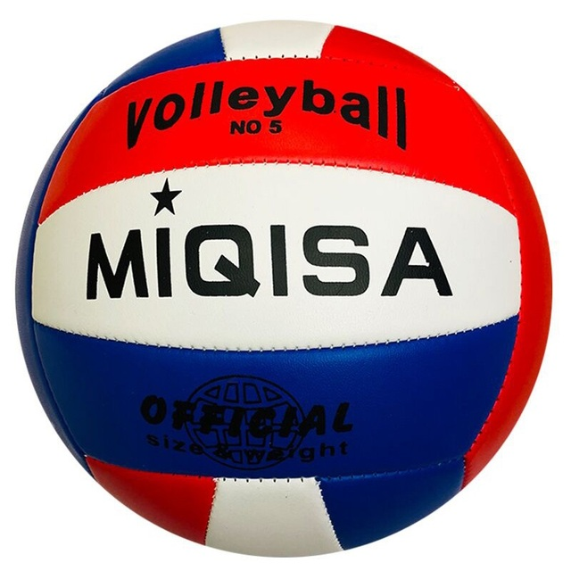 Pelota de Voleibol de marca de Interior de tamaño oficial 5 de entrenamiento suave máquina de Voleibol cosido pelota de mano de competición Pelota de espuma Voleibol