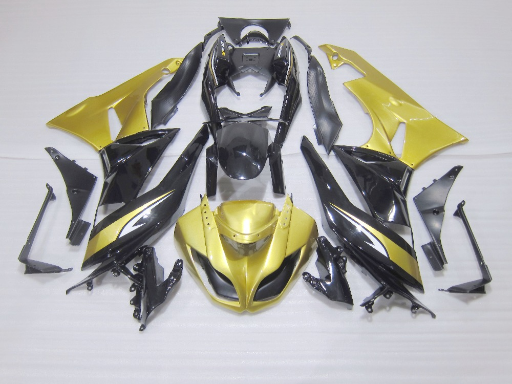 Fairing kit for Kawasaki Ninja ZX6R 09 10 11 ZX6R 636 2009 2010 2011 2012 green black ABS Fairings GB67