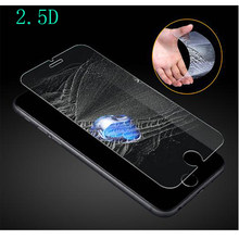 2.5D protection en verre trempé pour iphone 5 6 7 6 s se 8 X plus max XR verre iphone 7 8 4 S protecteur d'écran en verre sur iphone 7 6 S 8(China)