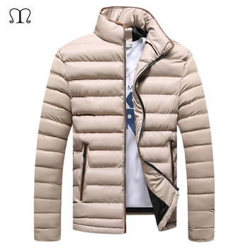 Bomber Jackets 2017 Winter Coat Men Thick Jacket Men's Ultralight Jackets Mens Coats Homme Warm Slim Fitted Coat Outwear Parka