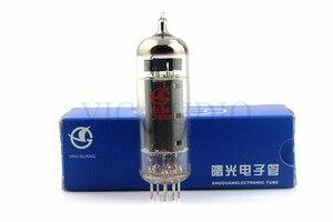 Image 1 - 1 pc novo shuguang el84 tubo de vácuo substituir 6p14 9 pinos tubo telectron frete grátis