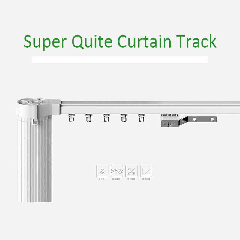 Eruiklink Motorized Curtain Track, Smart Home used Motorized Curtain For Xiaomi Curtain motor and DOOYA Curtain motor ewelink dooya electric curtain system curtain motor dt52e 45w remote control motorized aluminium curtain rail tracks 1m 6m