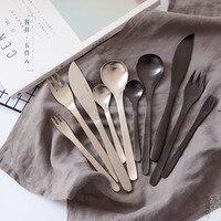 Stainless Steel Flatware Dining Fork Knife Dessert Fork Fruit Forks Utensilios De Cozinha