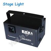 Animacja Światła Laserowego etap Pełen Kolor Światła 30 K drgań Lustro Ekran Dotykowy Światła laserowego DJ KTV Bar Oświetlenie EM-RGB243