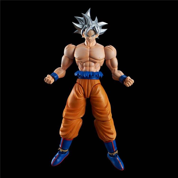 Dragon Ball Z figurine Standard Son Goku (Ultra Instinct) Kit de construction japon Anime à collectionner mascotte jouets 100% Original