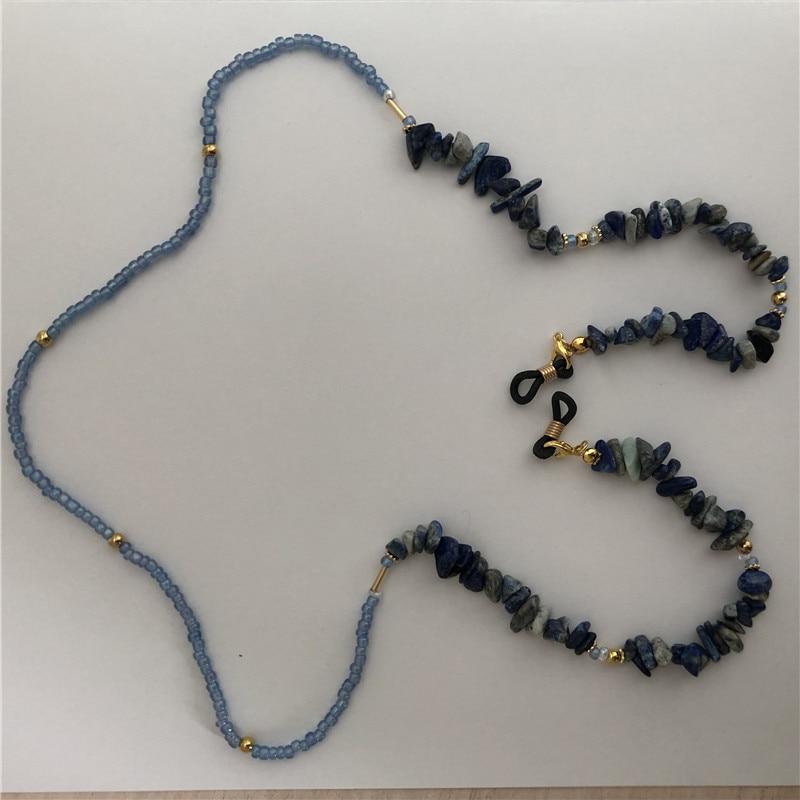 Natural Stone Beads Chain Handmade Reading Glasses Chains For Women Men Sunglasses Cords Holder Eyeglass Lanyard Straps Retainer