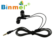 Fashion In ear earphone 3.5mm Stereo earbud headset for HTC for iPad for iPhone for Samsung LJJ0324
