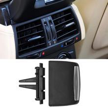 Аксессуары для салона автомобиля, задний центральный кондиционер, вентиляционное отверстие, вкладка, зажим, Ремонтный комплект для BMW X5 E70 X6 E71, задний центр A/C