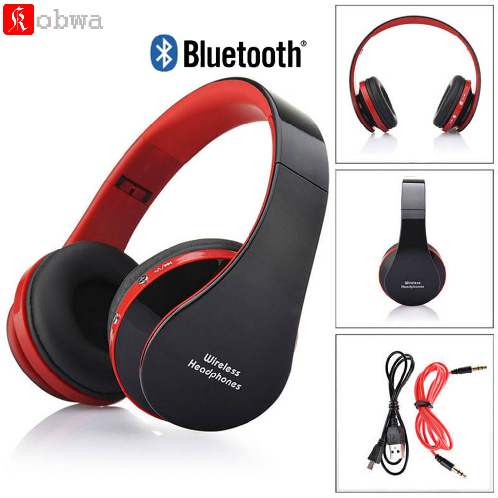Sport HIFI Wireless Bluetooth Earphone Foldable Stereo Portable Handsfree Mic Headset Headphone For iPhone For Samsung Cellphone high quality 2016 universal wireless bluetooth headset handsfree earphone for iphone samsung jun22