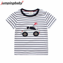 Jumpingbaby 2019 Boys T shirt Kids Tshirt Clothes Car Summer Top Camiseta Koszulka Koszulki Meskie Tee Enfant Camisetas