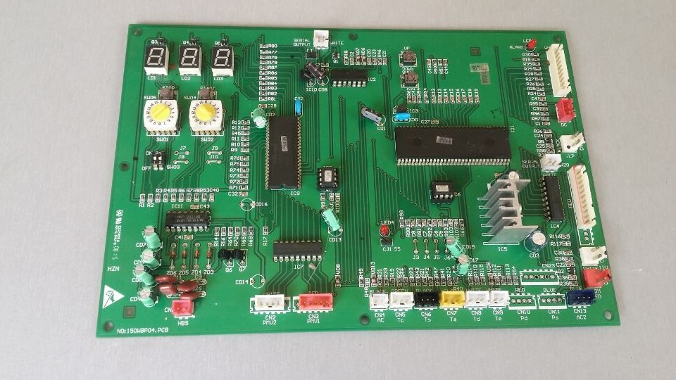 ФОТО VC571015 0010450036 KR-140W/BP Air Conditioning Board Tested