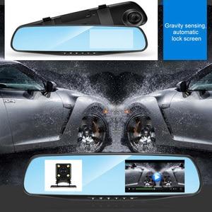 Image 1 - 4.3 Inch 1080P HD Car DVR Mirror with Rear View Camera Night Vision Car Dash Camera Auto Driving Video Recorder