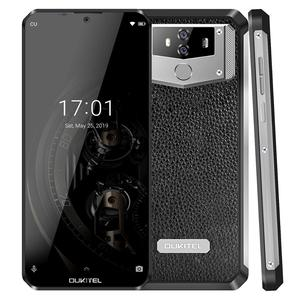 Image 3 - OUKITEL K12 5V 6A Smartphone Android 9.0 téléphone portable 6.3 19.5:9 MTK6765 6G RAM 64G ROM NFC 10000mAh prise rapide dempreintes digitales