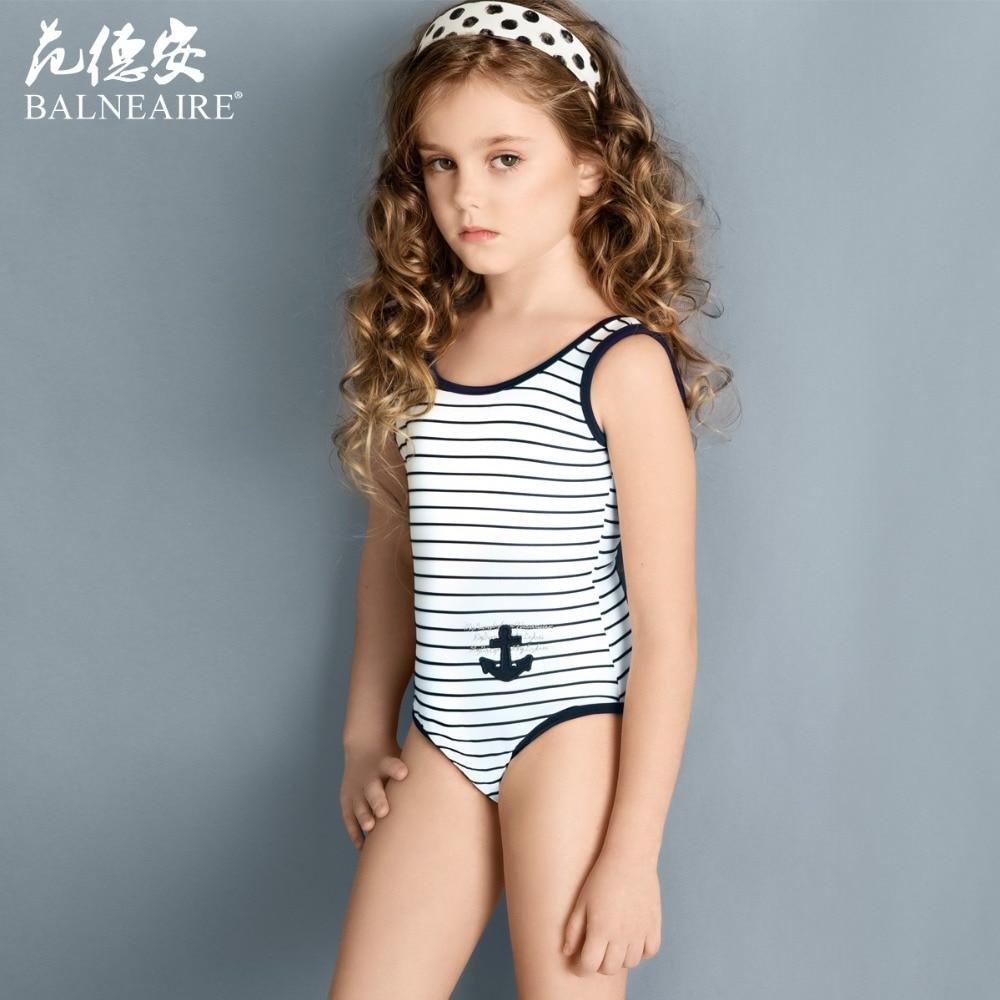 Blaneaire Girls Beach dress Kids Swimwear Navy style 3 12 ...