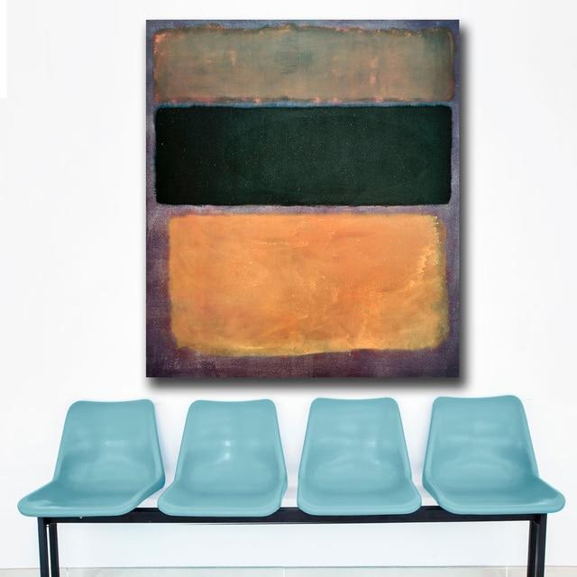 Gran tamaño Mark Rothko no. 10 pintura al óleo pared arte cuadros ...