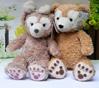 2016 New Resorts 17 SHELLIE MAY Duffy Bear Plush Toy Doll Set of 2 image