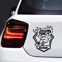 Voiture autocollant Auto produits moto Tuning créatif en colère cerf vinyle imperméable drôle voitures style Animal décoration décalcomanies Gaz