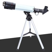 Cheapest prices Free Shipping F36050M Outdoor Small Astronomical Monocular Telescope With Portable Tripod