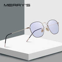 MERRYS DESIGN Men/Women Fashion Rectangle Glasses Retro Blue Light Blocking Optical Frames Eyeglasses S2091