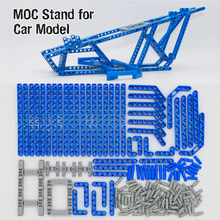 Bricks Technic Car Display Stand for 20086 20001 23002 23006 20052 Porsche MOC model 42083 42056 Toys LegoINGlys Building Blocks(China)