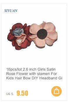 """100 шт./лот Comming """" Искусственный Твердые кружева цветок с плоской задней поверхностью дети Аксессуары для волос FH62"""