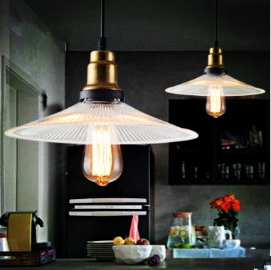 2pcs Brass Glass Retro Loft Lamp Style Lampe Vintage Industrial Lighting Edison LED Pendant Lights Fixtures Lamparas Colgantes 2pcs american loft style retro lampe vintage lamp industrial pendant lighting fixtures dinning room bombilla edison lamparas