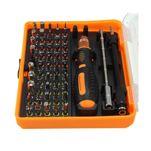 Kit 53 in 1 Multi-Bit Tool Precision Screwdriver Tweezers for Telephone DIY Reparation