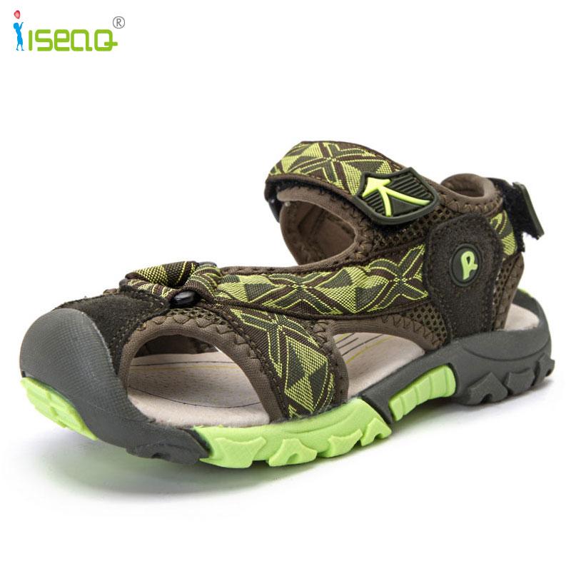 Kinderen jongens sandalen 2017 zomer nieuwe stijl schoenen jongens - Kinderschoenen - Foto 5