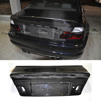 CSL Style Car Styling Rear Trunk Cover For BMW E46 M3