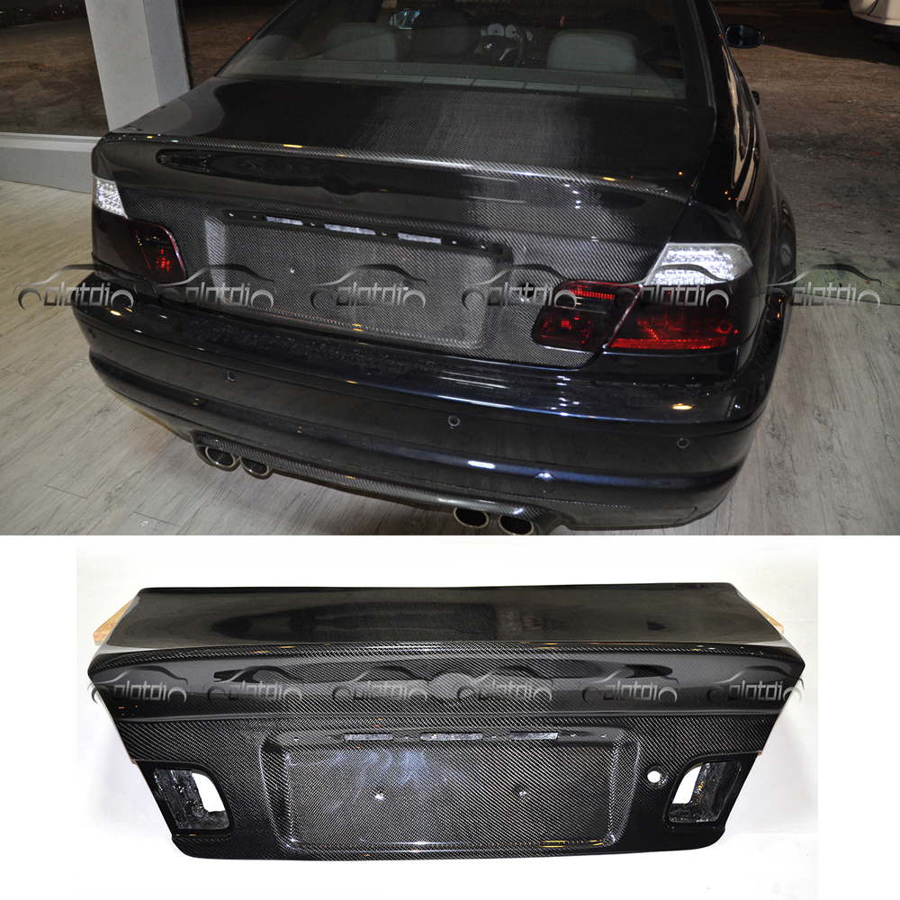 CSL Style Car Styling Rear Trunk Cover replacement For BMW E46 M3