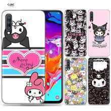 Bags Case for Samsung Galaxy Mobile Phone A50 A70 A30 A20 J4 J6 J8 A6 A8 M30 A7 Plus 2018 Note 8 9 Kuromi Coque J6Plus A6Plus(China)