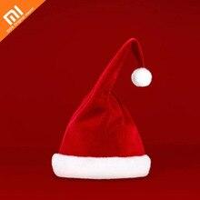 Xiaomi Mijia LF de Santa Do Natal Chapéu Dança Cantando Elétrica Pelúcia Chapéu tamanho Ajustável chapéu para o Presente da Festa de Natal QUENTE