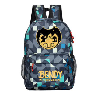 Bendy And The Ink Machine Backpack For Children School Bags Cartoon Game Printing Book Backpack Daily School Backpack