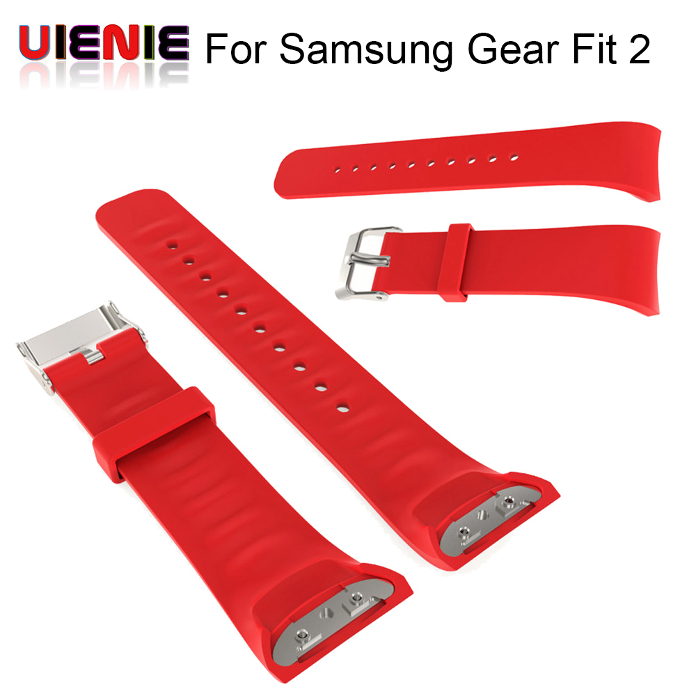 Colorful Silicone sport Watch Band wrist Strap bands For Samsung Gear Fit 2 SM-R360 Band Replacement watchband for gear fit2 hangrui 316 steel watch band for samsung gear fit 2 pro band wrist strap butterfly buckle for gear fit2 sm r360 smart accessory