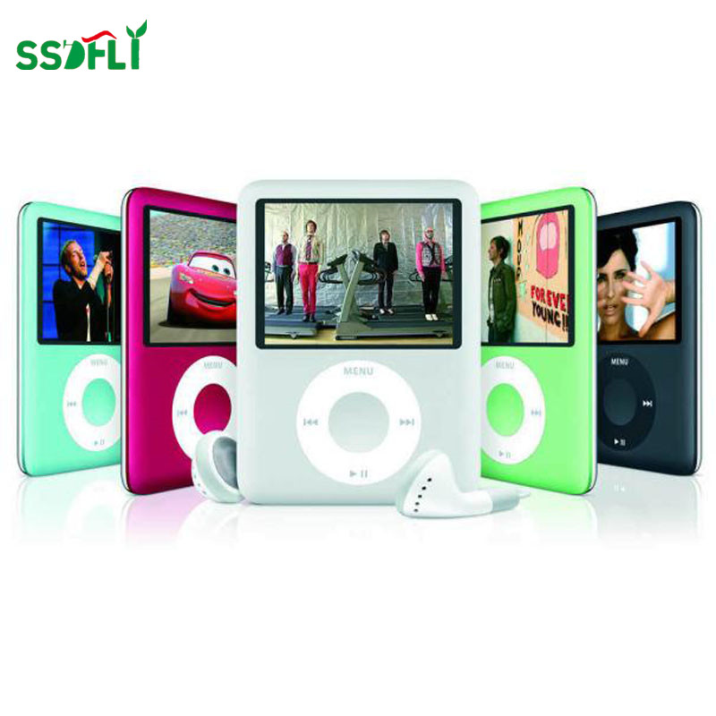 Ssdfly המדיה LCD מסך 1.8 אינץ MP4 עם אוזניות באיכות גבוהה סרט משחק וידאו רדיו FM מוסיקה MP4 דור 3th נגן