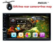 Envío gratis 178*100mm 7 pulgadas 2 din android 6.0 dvd del coche reproductor de radio del GPS para NISSAN QASHQAI X-TRAIL NV200 LIVINA TIIDA Elantra