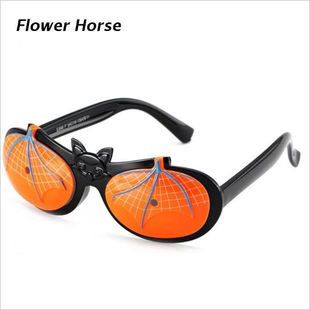 c005542b0771d1 Kinderen Batman TR90 Flexibele Kids Zonnebril Gepolariseerde Kind Baby  Veiligheid Zonnebril UV400 Brillen Tinten oculos de