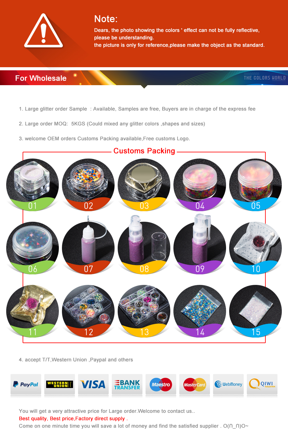TCT-346 Chameleon 3D Star Stereoscopic Nail Glitter Nail Art Decoration Face Paint Tattoo Tumblers Crafts Festival Accessories