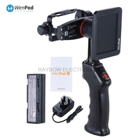 Wewow GP1 2 Axis Camera Stabilizer Handheld Video Gimbal With Camera Hd Rotatable 3 5 LCD