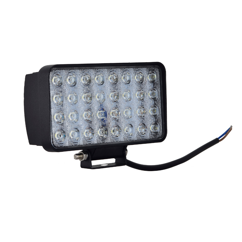 10PCS GERUITE 96W LED Spotlight Bil Rectang Lights For Truck SUV Båt Jakt Fiske Vanntett Arbeid Lysbil SpotLights