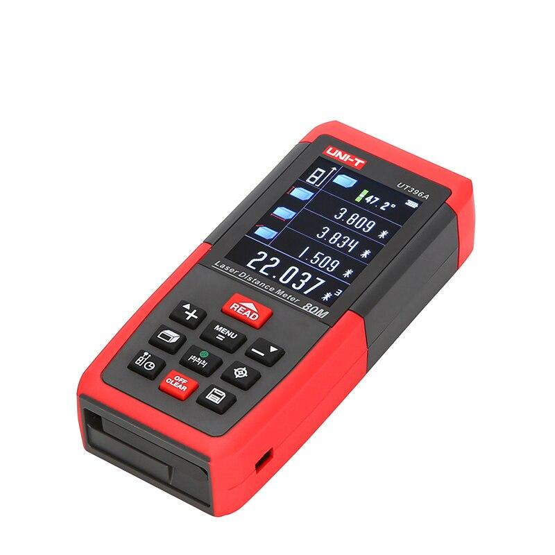 UNI-T Digitale Laser-entfernungsmesser Abstand Meter Kamera USB 80 m 120 m Band Entfernungsmesser Trena Laser Lineal Werkzeug Palette Finder