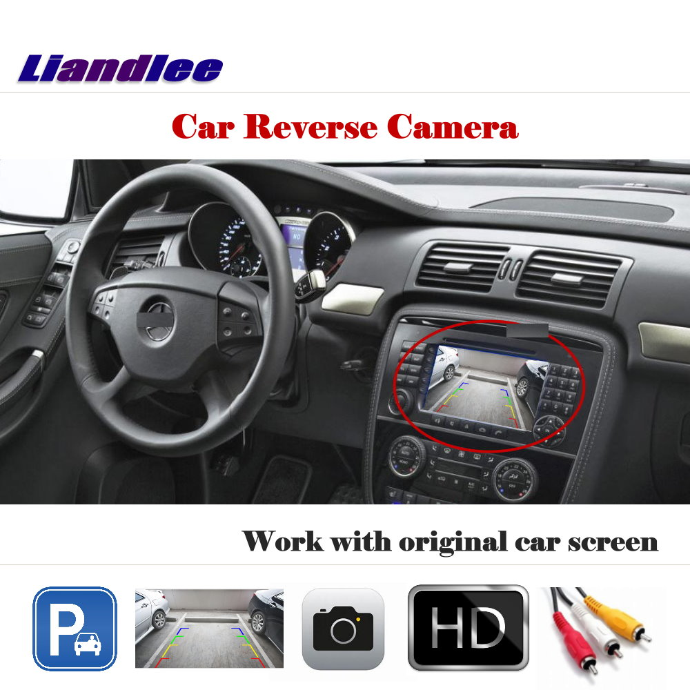 Auto Reverse Parking Camera For Mercedes Benz R W251 2006 2013 / Rear View Backup Camera Work with Car Factory Screen|Vehicle Camera| |  - title=