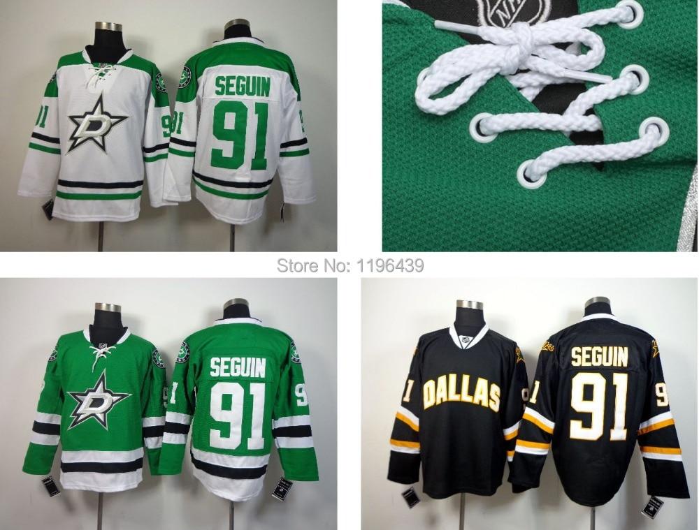 big sale 4b758 c8a55 Free Shipping Men's Dallas Stars Hockey Jerseys #91 Tyler ...