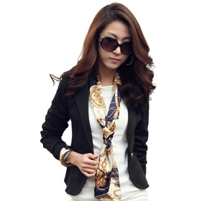 Women Blazer Coat Casual...