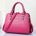 2016 New fashion women handbags crocodile grain shoulder messenger bag solid color women bags KLY8888bag